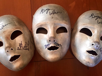 Signed Silver Mask Set! (1 of 1) main photo