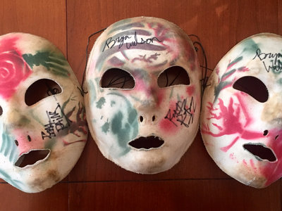 Signed Hand Painted Mask Set! (1 of 1) main photo