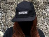 DDD 5 Panel Hat - Black photo