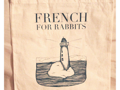 French for Rabbits 'Lighthouse' Tote Bag main photo