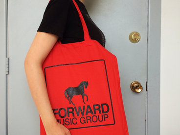 Red Tote Bag w/ FMG logo main photo