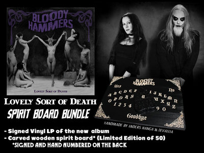 Lovely Sort of Death (Vinyl) Spirit Board Bundle [Free Shipping] [Pre-Order] main photo