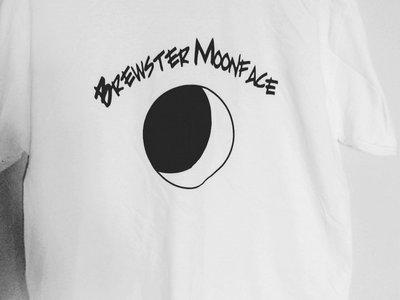 Black and White Eclipse Moon Design T-Shirt main photo