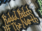 Rabid Bitch Of The North - Logo patch (multi-colours) photo