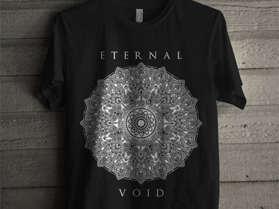 Mandala Black T-Shirt main photo