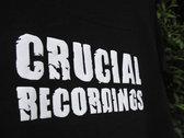 Crucial Recordings Logo T-Shirt photo