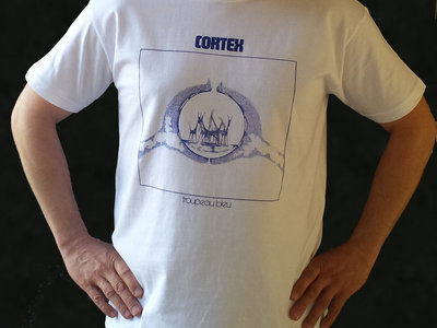 "Limited CORTEX ""Troupeau Bleu"" White Tee-Shirt main photo"