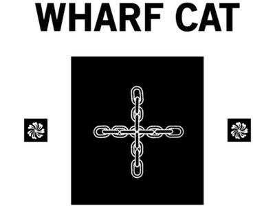Wharf Cat Records T-Shirt by Nina Hartmann (Black and White) main photo