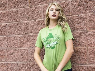 Green '40oz' T-Shirt main photo