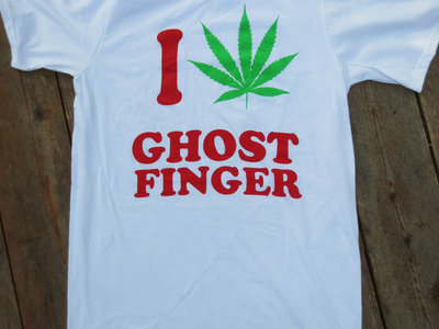 I (potleaf) Ghostfinger T-Shirt main photo