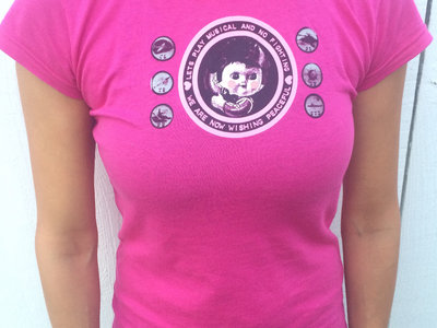 Musical Ladies Kung Fu Records T-shirt main photo