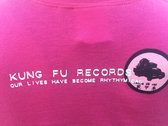 Musical Ladies Kung Fu Records T-shirt photo