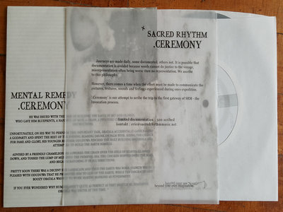 "Mental Remedy - Ceremony - 7"" Vinyl Release "" SPECIAL CLASSIC "" main photo"