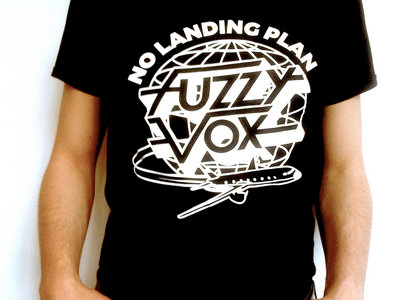 "New T-Shirt ""NO LANDING PLAN"" !! (Black) main photo"