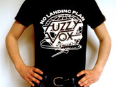 "New T-Shirt ""NO LANDING PLAN"" !! (Black) photo"