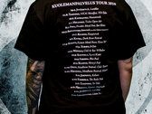 Tour 2010 t-shirt photo
