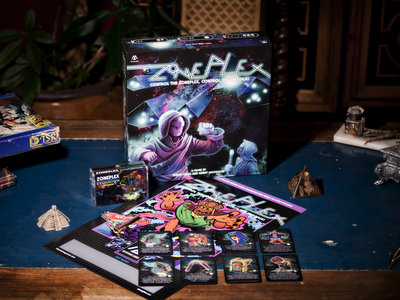 Zoneplex Board Game + Expansion (El Huervo Relic Art!) main photo