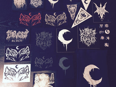 LVTHN & Lurker of Chalice Embroidered Patch & Sticker Burlap Bag Collection main photo