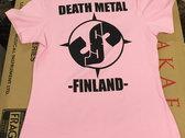 Death Metal Finland pink girlie photo