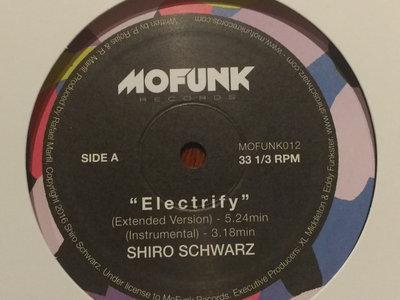 "Shiro Schwarz - Electrify/Breeze 12"" on Mofunk main photo"