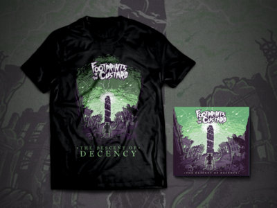 'Descent Of Decency' Shirt/Digipak CD Bundle! main photo