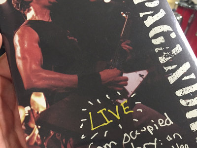 Live from Occupied Territory: An Official Bootleg DVD (Signed by the darn band!) main photo