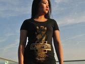 Gold Hand Damim Logo Long T-shirt photo