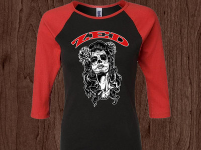 Limited Edition Muerta Raglan - BLOWOUT! main photo