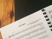 Sheet Music - Dead Again (signed and dedicated) photo