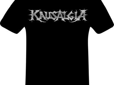 Logo T-shirt black normal main photo