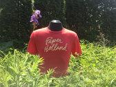 Paper Holland Script T-Shirt (Red) photo