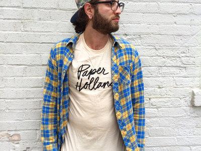 Paper Holland Script T-Shirt (Tan) main photo
