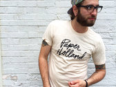 Paper Holland Script T-Shirt (Tan) photo