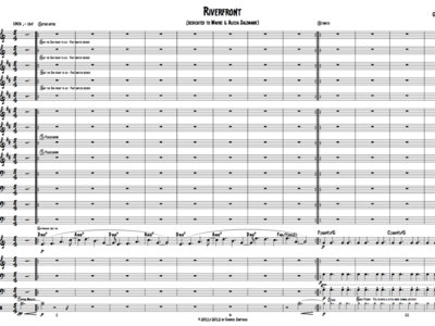 Jazz Orchestra - Riverfront - Study Score main photo