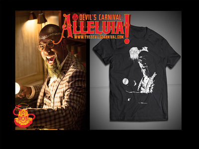 "Tech N9ne as ""The Librarian"" T-Shirt  [Alleluia! The Devil's Carnival] main photo"