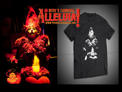 """Painted Doll"" T-Shirt [Alleluia! The Devil's Carnival] main photo"