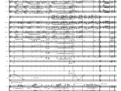 Symphony + Jazz Orchestra - Poupée - Score & Parts main photo