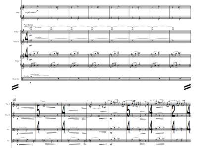 Symphony + Jazz Orchestra - River of Memory - Study Score main photo