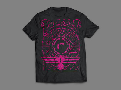 2015 Label T-Shirt (Black / Pink) main photo