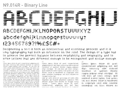 N9.014R - Binary Line main photo