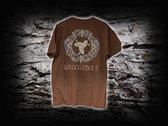 T-Shirt Götterlieder II brown photo