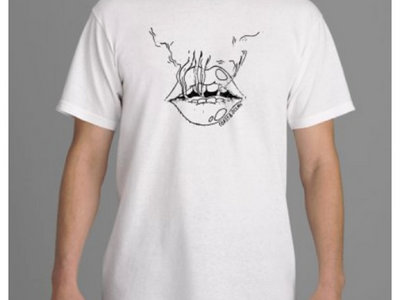 Smokin' Lips T-shirt - *Design by Ecila Eel main photo
