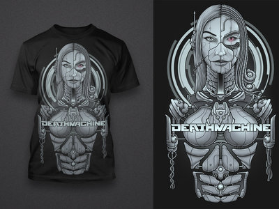 Deathmachine Self Distort EP + T-Shirt Combo Pack. LIMITED!!! main photo