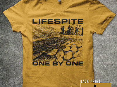 One By One shirt (YELLOW or CHARCOAL) main photo