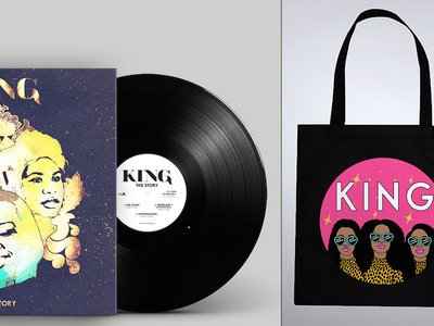 Limited Edition 'The Story' Vinyl Deluxe EP + Tote Bag Bundle main photo
