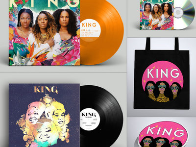 Limited Edition 'We Are KING' Bundle inc.  signed Double Color Vinyl, CD album,'The Story' Vinyl EP, Tote Bag + Sticker Bundle main photo