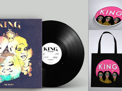 Limited Edition 'The Story' Vinyl Deluxe EP, Tote Bag + Sticker Bundle main photo