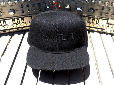 """Incognito Acid"" Waveform Hat (Snapback Flat Bill Hat or Dad Hat option) main photo"