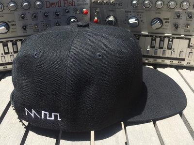 """Acid Casual"" Waveform Hat (Snapback Flat Bill or Dad Hat options) main photo"