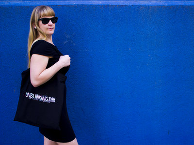 Unblinking Ear Records Tote Bag main photo